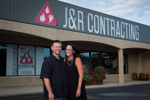 Owners of J&R Contracting, Toledo, Ohio