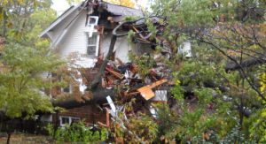Damaged Home Photo