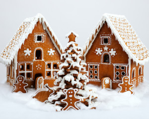 Gingerbread House Challenge by J&R Contracting, Toledo, Ohio