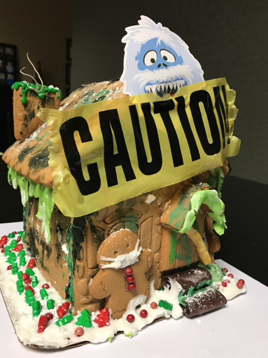 Mold Remediation Services in a Gingerbread House - J&R Contracting, Toledo, Ohio