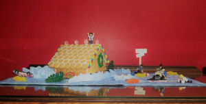 Water Damage Restoration Services in a Gingerbread Houses - J&R Contracting, Toledo, Ohio