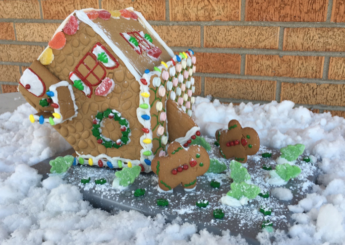 Wind Damage Restoration Services in a Gingerbread Houses - J&R Contracting