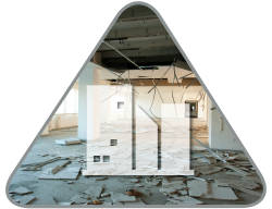 Commercial Property Damage Restoration - J&R Contracting - Toledo, OH, Northwest Ohio